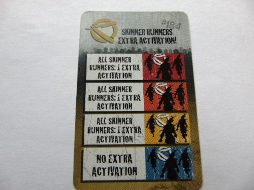 zombie action card (runner extra activation)